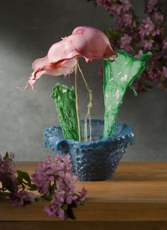 Vessels and Blooms by Jack Long, via Behance