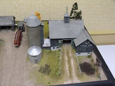 An overview look at Old MacDonald's barn. Photo and modeling by Greg Shinnie