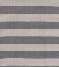 MASINFINITO CASA - Alfombra Dash & Albert Catamaran Stripe Graphite, Fieldstone - Interiores / Exteriores
