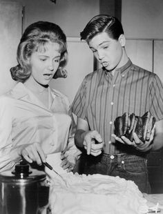 Shelley Fabares and Paul Peterson - publicity photo for The Donna Reed Show - 1962