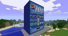 Cool Minecraft Creations: Pepsi Soda Machine