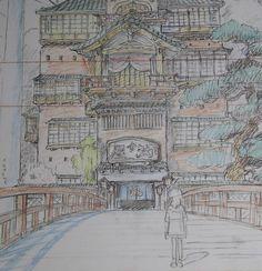 spirited_away_chihiro_concept_art_layout_44.JPG (771×800)