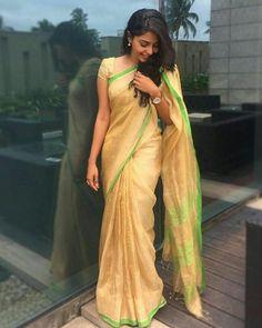 Saree Designs Party Wear, Indian Navel, Elegant Saree, Stylish Girl Pic, Beautiful Models, Beautiful Saree, Indian Sarees, Silk Sarees, Saree Styles