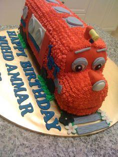 CAKE CUPBOARD: Arthur from Chuggington - set