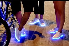 8 Colors 2015 LED luminous shoes for women and men led sneakers USB charging light led shoes for adults led shoes,free shipping