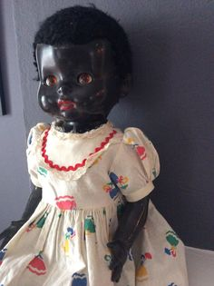 Antique Black Doll