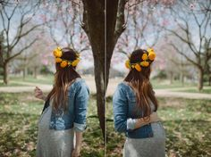 Definitely wearing a flower crown for my maternity photoshoot!