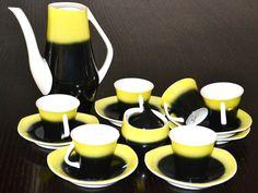 Serwis do kawy Iza, Projekt Józef Wrzesień dla Zakładów Porcelitu w Chodzieży (1959