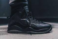 hot sale online 9a8ab 88821 get air jordan 10 ovo black on feet 1df95 4f66f