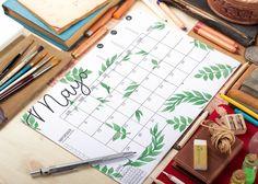 Calendarios de mayo – TheLoveatc