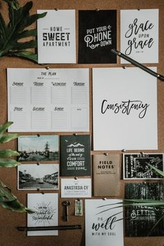 Power Word Ideas (with Printables) and Getting Consistent Cork Board Ideas For Bedroom, Diy Cork Board, Cork Boards, Goal Board, Creating A Vision Board, Cute Room Decor, Aesthetic Room Decor, Inspiration Wall, Inspiration Fitness