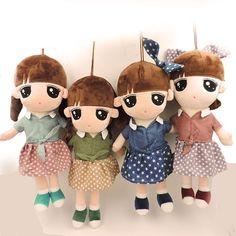 40cm - Kawaii Big Eyes - Rag Mushy Dolls