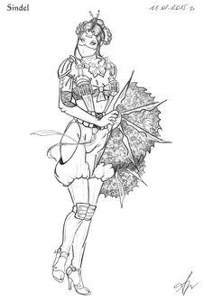 mortal kombat x- katana drawing