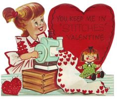 You Keep Me In Stitches Valentine ♥