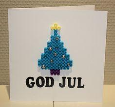 Hama christmas card