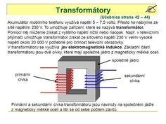 Transformátory (Učebnice strana 42 – 44)>