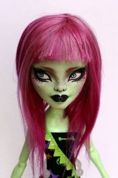 Monster High OOAK Amanita custom doll repaint