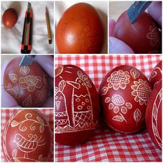 DIY Uniquely Decorated Easter Eggs  https://www.facebook.com/icreativeideas