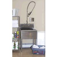 Captivating Stainless Steel Commercial Utility Sink