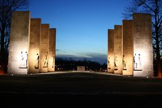 This is the war memorial chapel on the Virginia Tech campus.