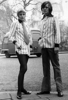...and then there was Unisex... London 1969 College of fashion and Technology