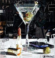Beautiful Collage Works by Derek Gores