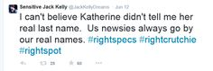 Yeah, Katherine, what's up with that?
