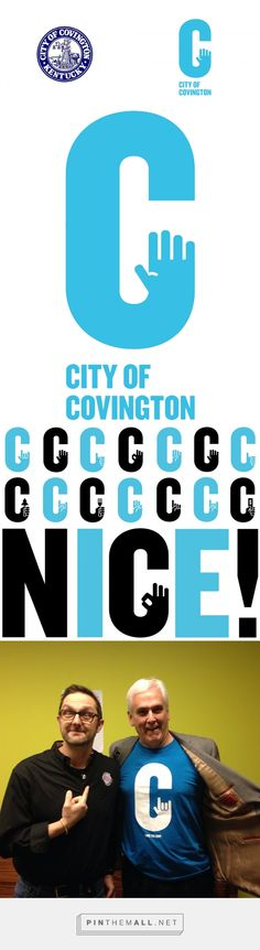 Brand New: New Logo and Identity for City of Covington by Landor - created via http://pinthemall.net