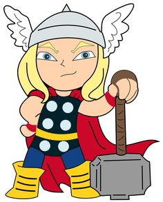 Krafty Nook: Thor - God of Thunder Fan Art