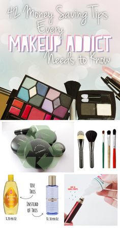 tips for saving money with makeup