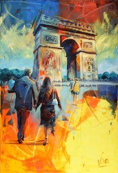 Voka, a intensidade do instante! Voka Art, Bright Colors Art, Paris Art, Contemporary Abstract Art, Impressionist Art, Famous Art, Sketch Painting, Art Series, Photoshop