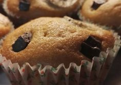 Banános csokis muffin recept foto Food Styling, Breakfast, Morning Coffee