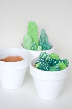 DIY Cactus en pierre / Autour de Cia