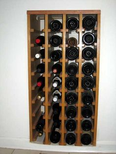Look: Diy Wine Storage Under The Stairs!