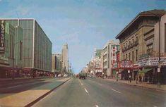 Downtown Richmond, VA - 1960's. Looks the same...