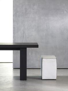 Piet Boon Collection furniture - SAAR hocker, GERRIT dining table