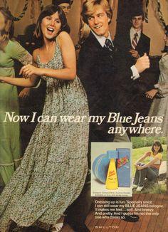 Shulton Blue Jeans Cologne (January 1977)