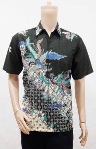 Toko Batik Online Model Baju Batik Pria Lengan Pendek Motif Parang