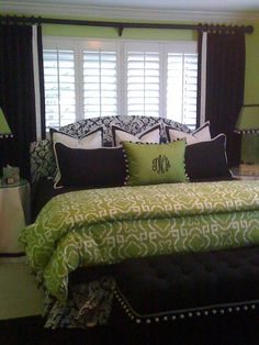 I did a room with these colors. Wasn't sure about it but, I have seen several other rooms done like it and I love the colors.     I
