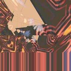 Flowers #glitch #glitchart #red #fractal