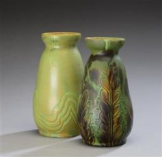 Vare: 4330265 Kähler. To vaser af lertøj (2)