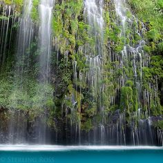 oahu thousand waterfalls | Thousand Finger Falls - Waterfall Photography from Mt. Shasta ...