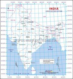 India Location On Globe
