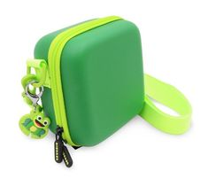 Green Toy Box Case fits Leapfrog Rockit Twist Handheld Learning Game System , Includes Shoulder Strap by Casematix Camera Pouch, Toy Camera, Camera Case, Kids Toy Boxes, Kids Toys, Frog Games, Green Toys, Video Camera, Shoulder Strap