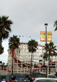 Belmont Park in San Diego, California  went to beach then to ride the rides at this park
