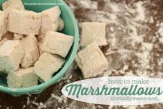 Homemade Naturally-Sweetened Marshmallow Recipe   The Prairie Homestead