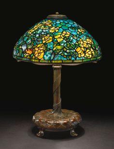 tiffany studios a rare ramblin ||| lighting ||| sotheby's n09061lot75v73en