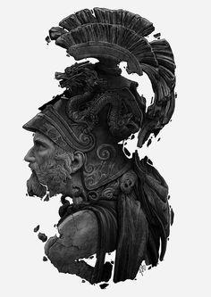 Archive — Portfolio of Grzegorz Domaradzki Ancient Greek Sculpture, Ancient Art, Tattoo Guerreiro, Zeus Statue, Sculpture Art, Sculptures, Statue Tattoo, Poses References, Badass Tattoos