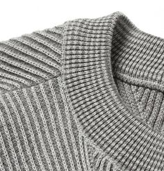 Thom Browne Ribbed Cotton Sweater
