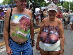 Nejbláznivější bodypainting kresby na ženských křivkách! - Evropa 2